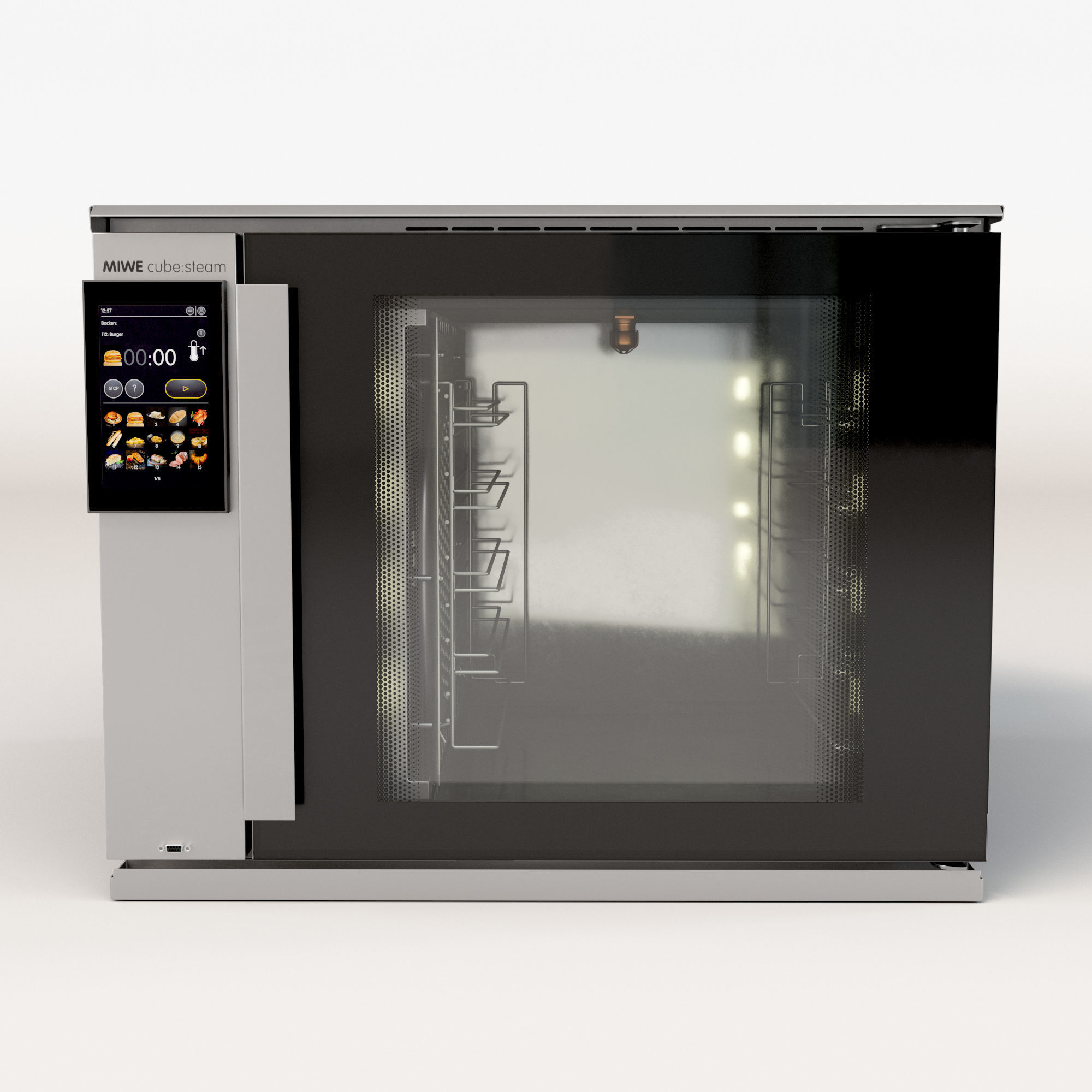 MIWE cube Steam convection oven