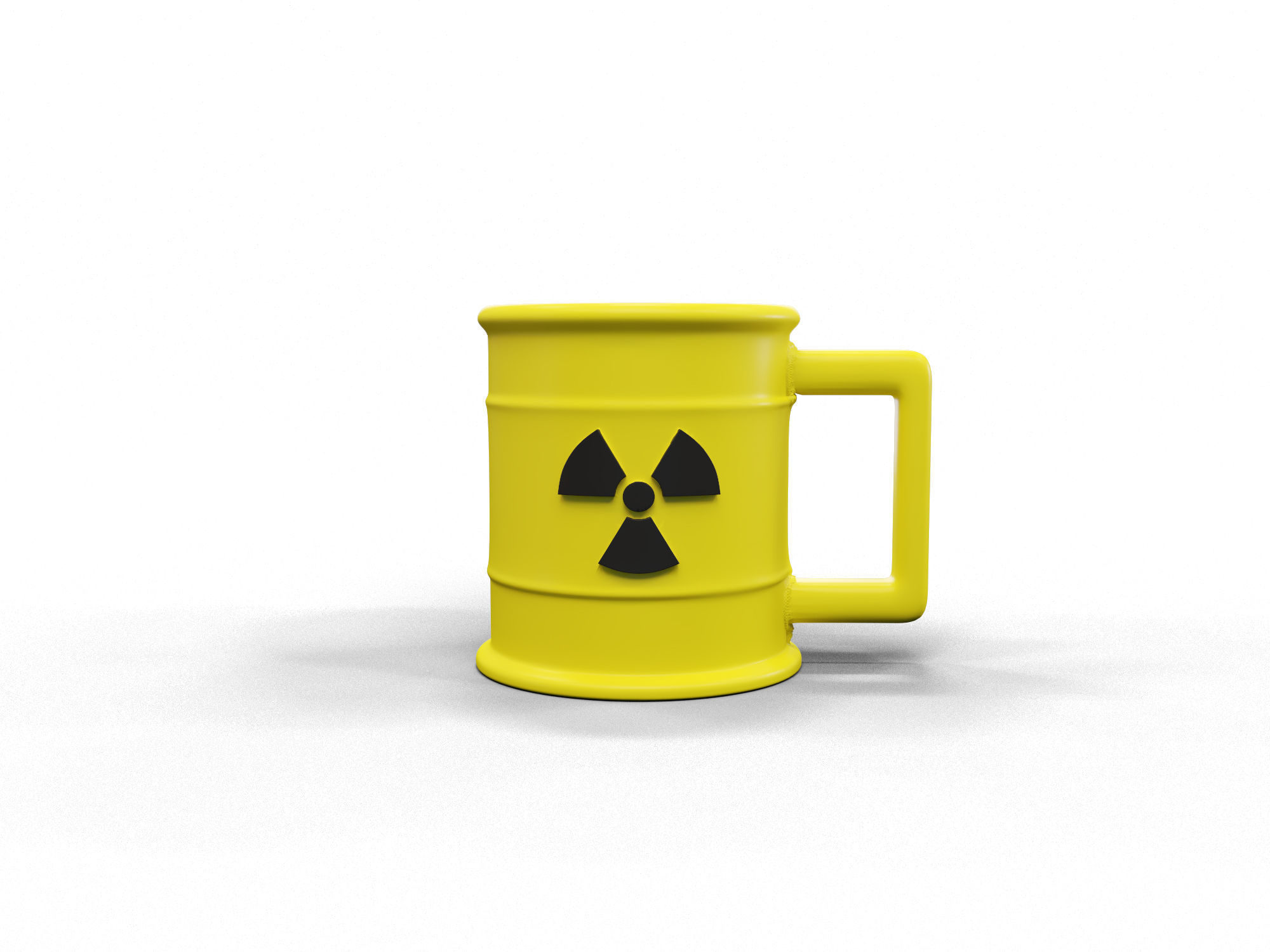 Radioactive cup