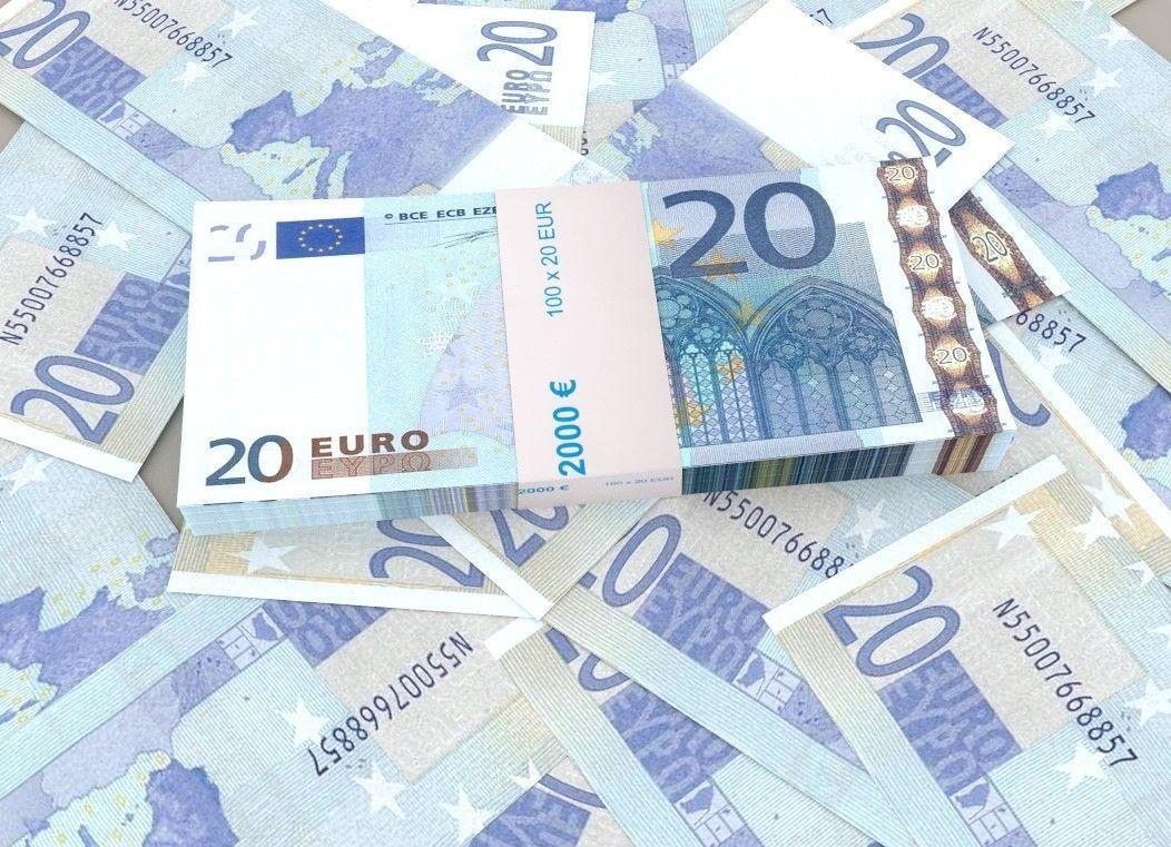 20 euro banknote packs