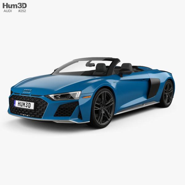 Audi R8 V10 US-spec spyder 2019