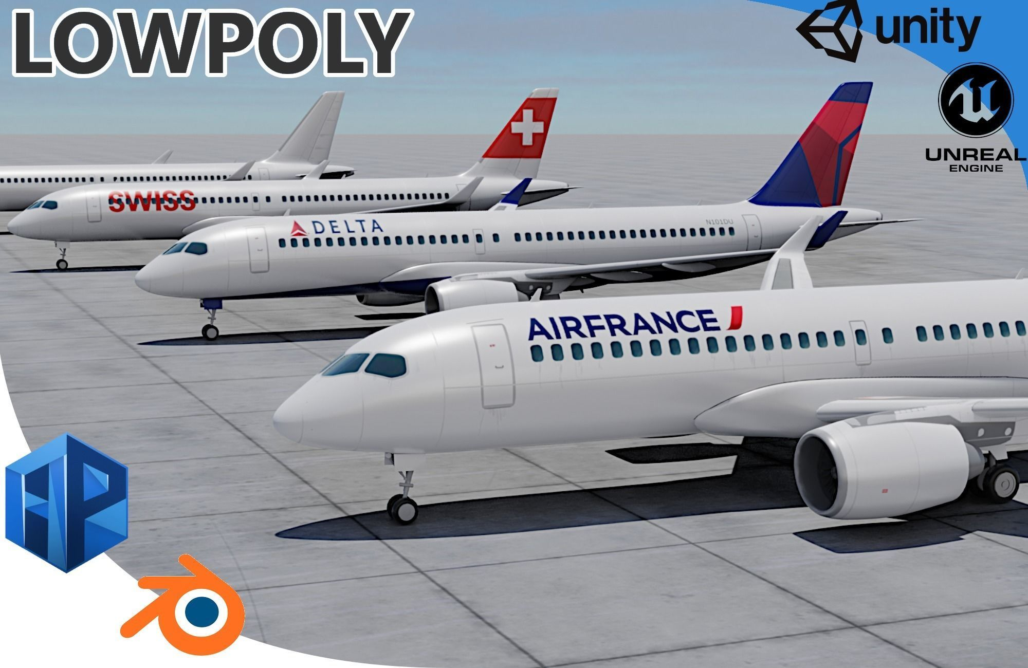 Pack Airbus A220-300 Multi livery
