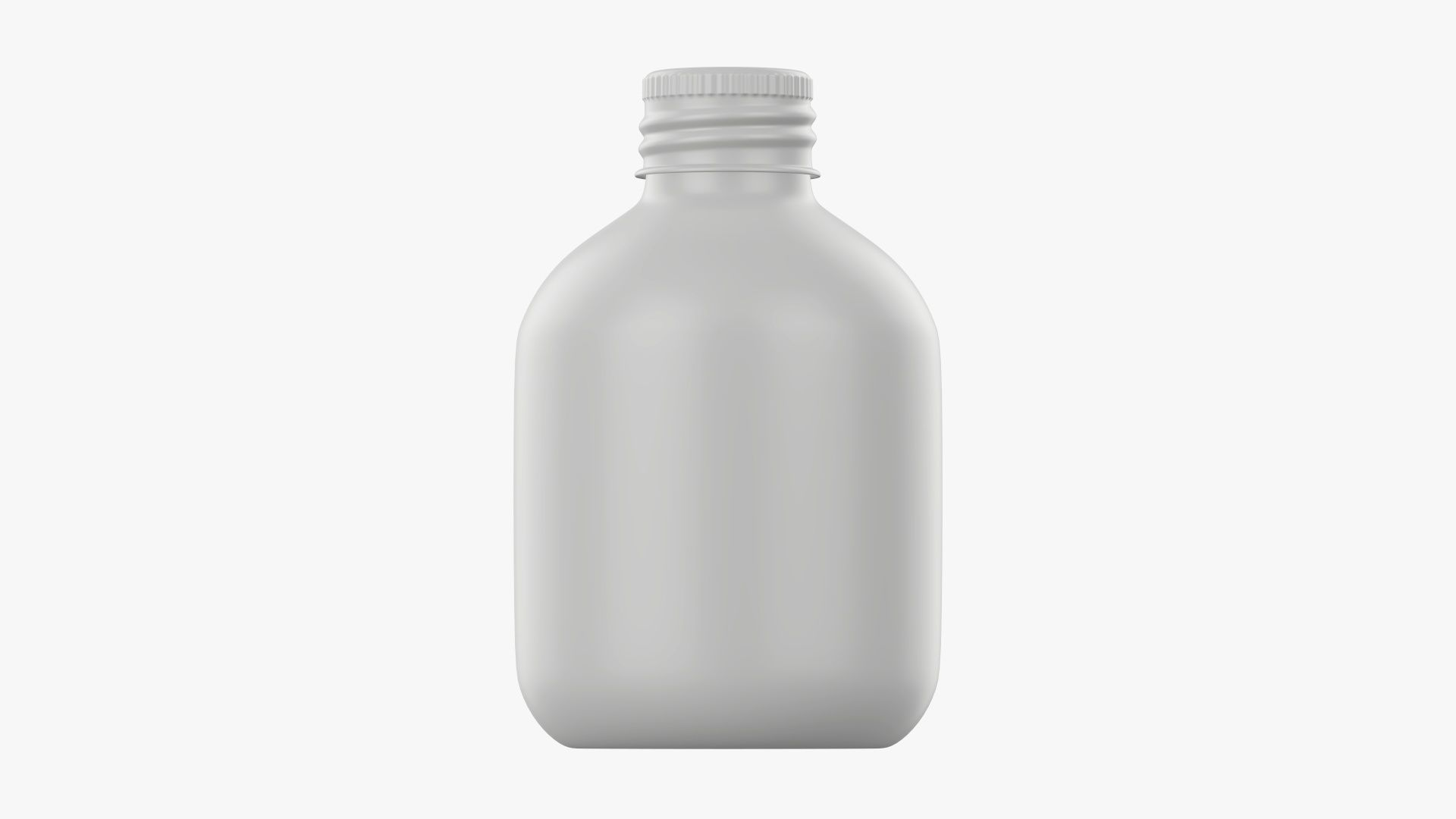 Bottle with cap metal small