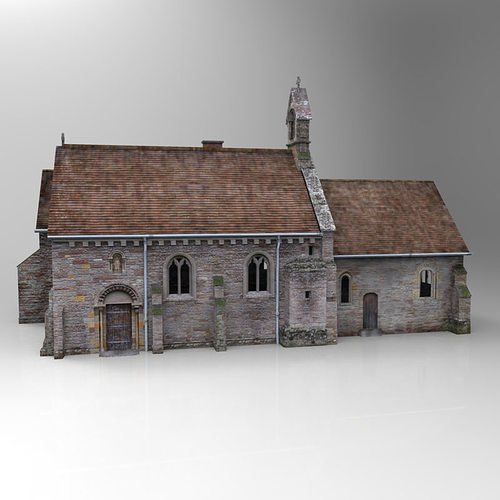 Church 3d cgtrader for Exterior 3d model