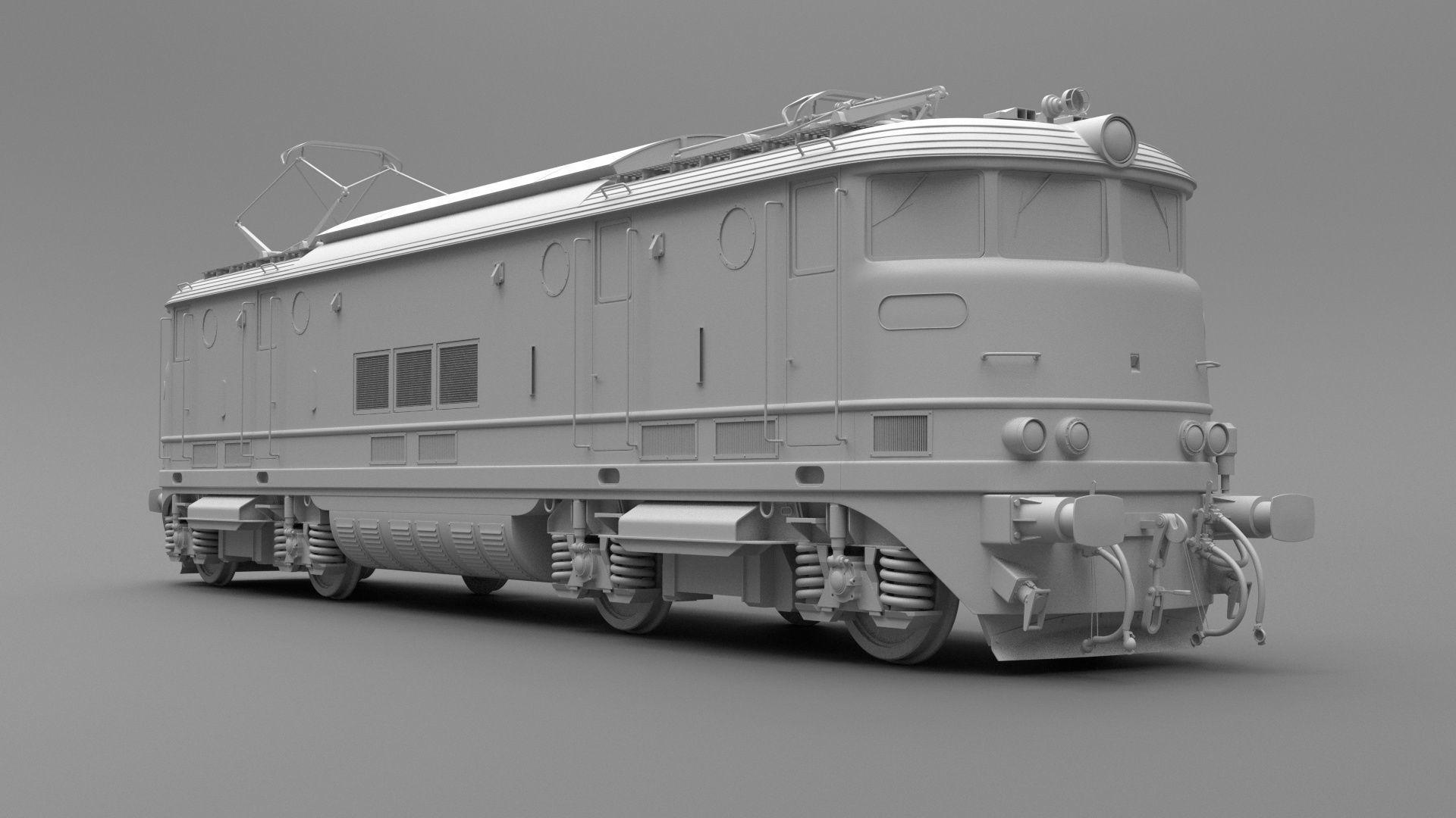old locomotive train model only