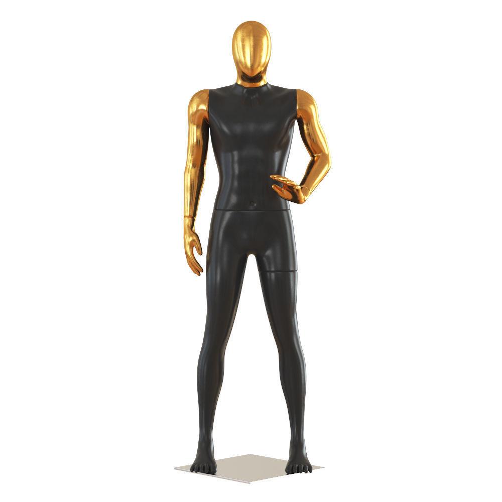 Faceless male mannequin 47