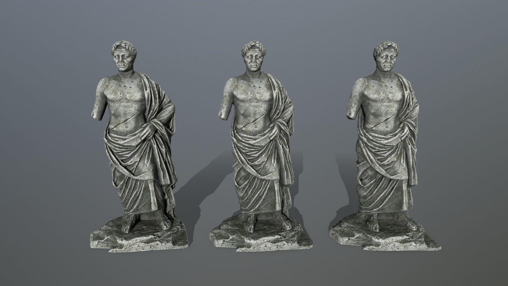 statue pompee