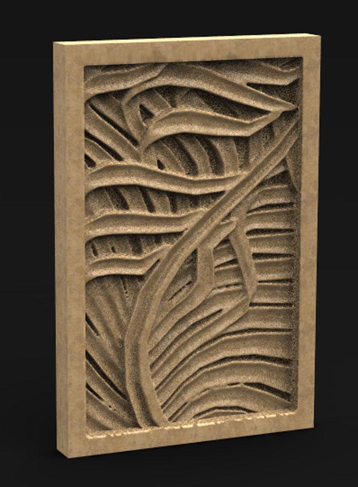 Decorative Panel Nature 2 3D Model