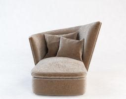 Chair longue 3D model