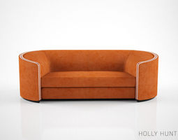 Holly Hunt Edie Sofa 3D