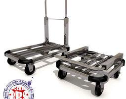 folding trolley 3d model obj dxf dae