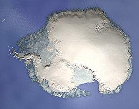 3D south pole