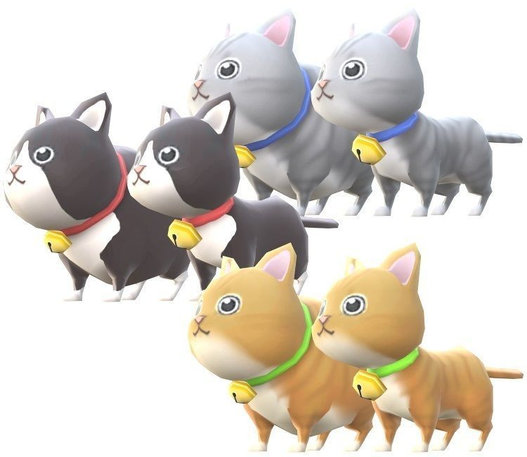 Lowpoly Animal Cartoon - Cat