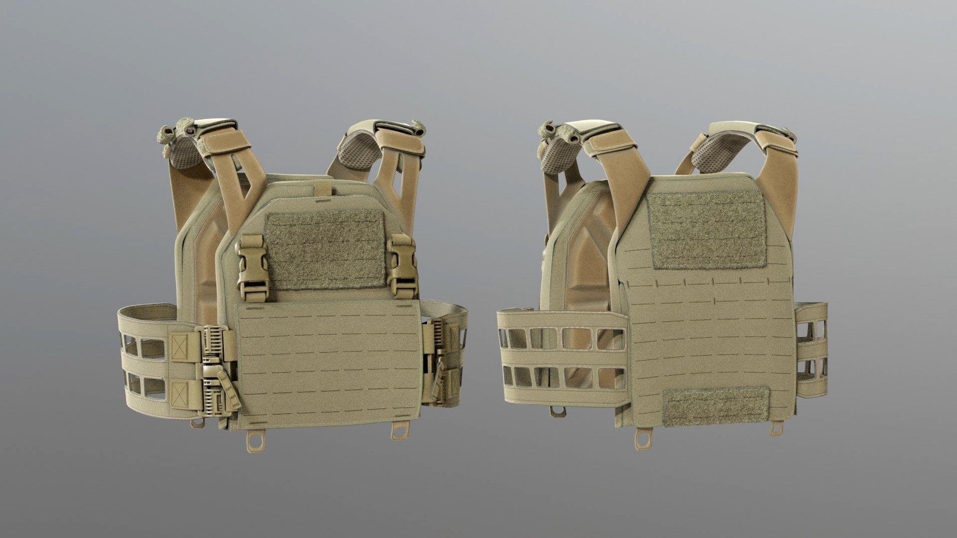 SOLDIER Bulletproof Vest 05