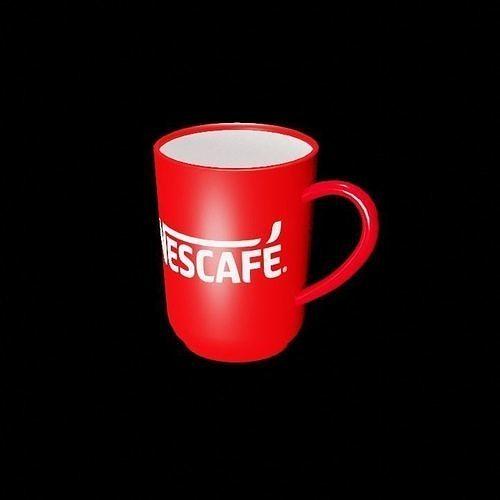 Ceramic Coffee mug  with Nescafe logo
