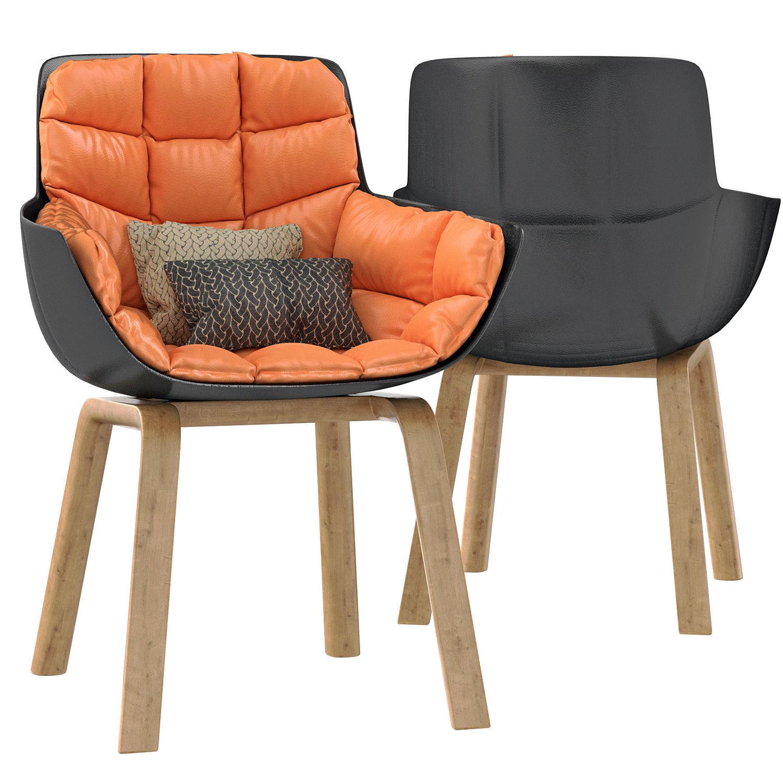 3D armchair husk chair | CGTrader