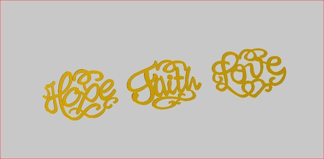 Hope - Faith-Love
