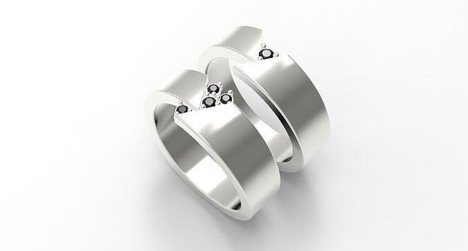 Bands ring wave model