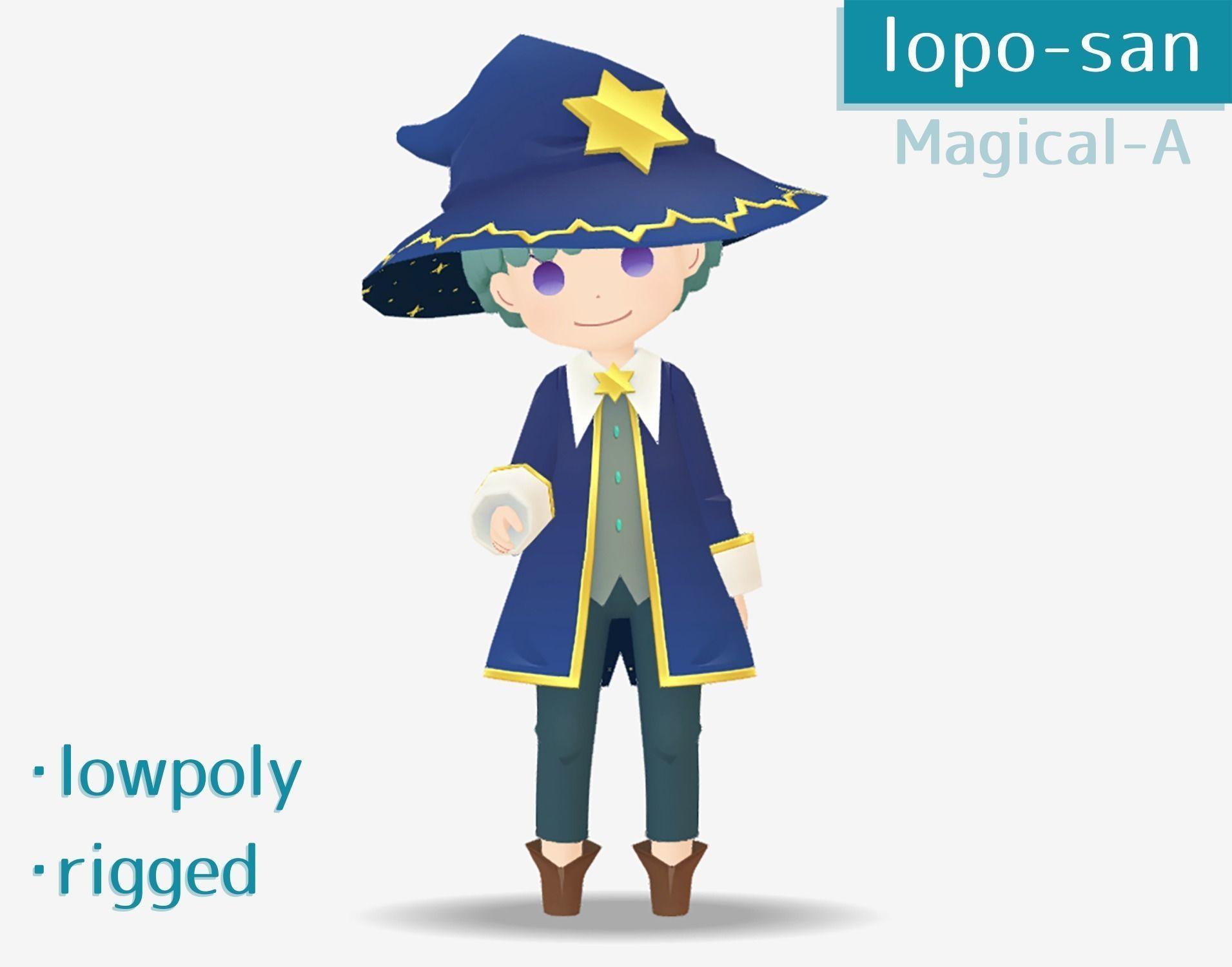 lopo-san Magical-A