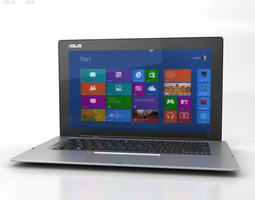 3d model asus transformer book tx300ca game-ready