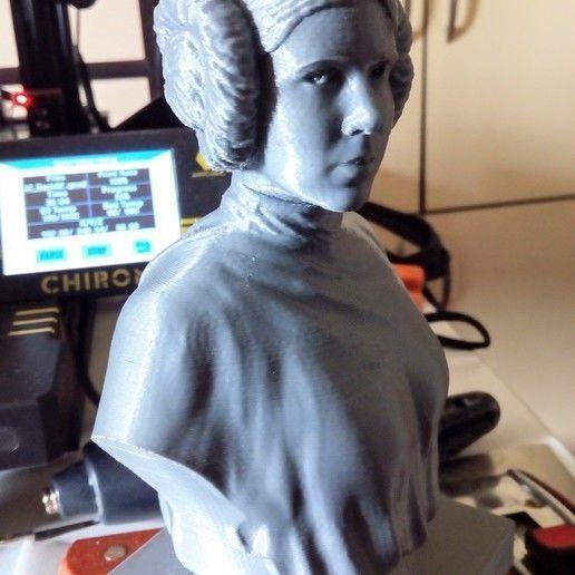 PRINCESS LEIA FOR 3D PRINTING