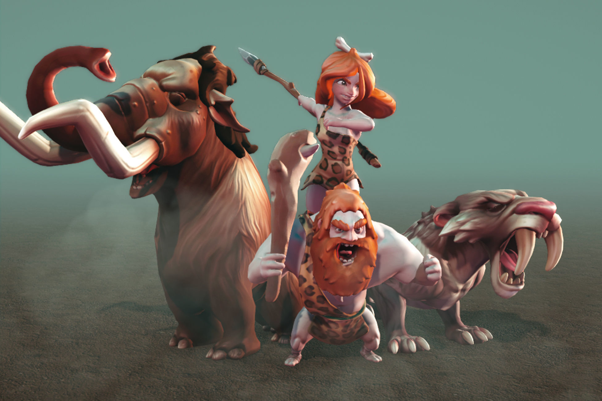Ice Age Character Pack