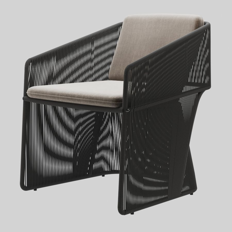 Holly Hunt Scarab dining chair 3D | CGTrader