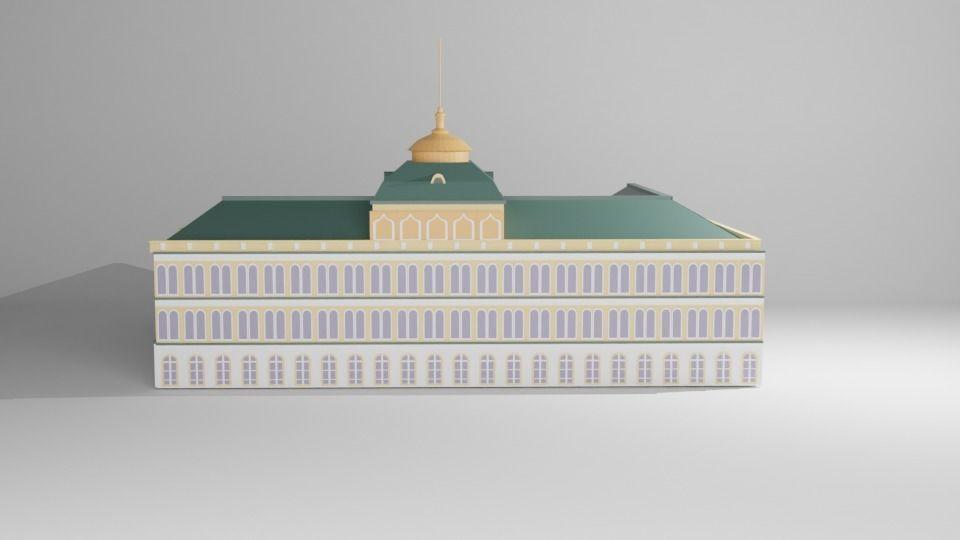 Kremlin Palace Model