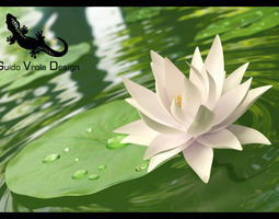 3d model lotus flowers cgtrader water lily 3d mightylinksfo