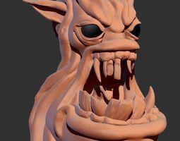 fantasy 3D Ghoulhead