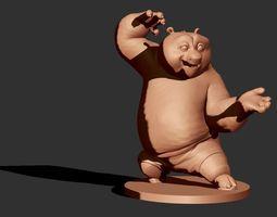 3D sculpture Po the Panda