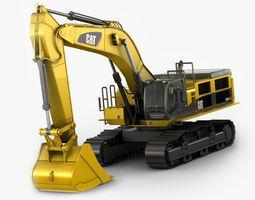 Excavator CAT 390D 3D