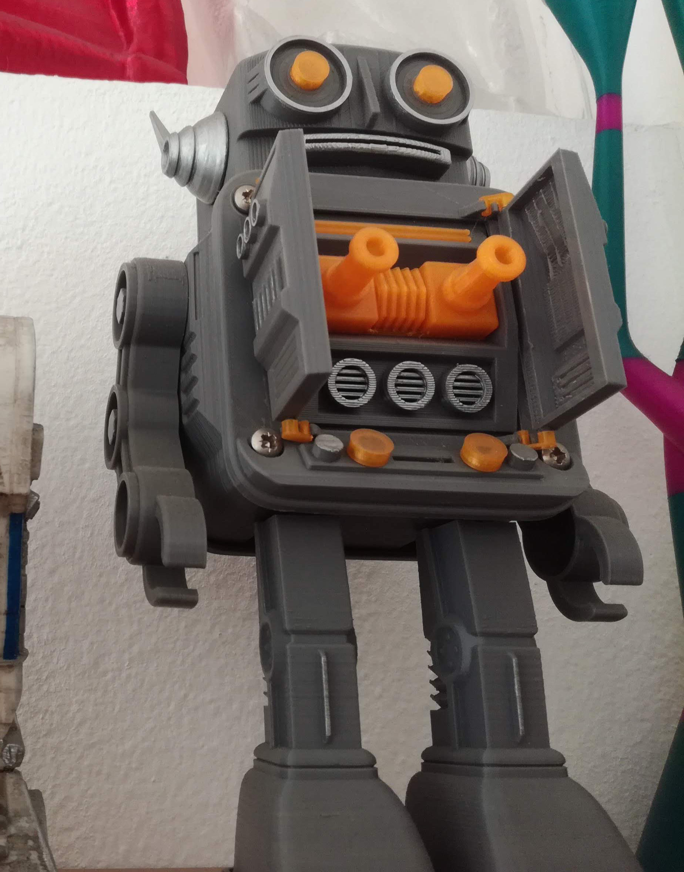 Robot HORIKAWA style 3D printable model | CGTrader