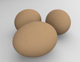 Chicken Eggs 3D