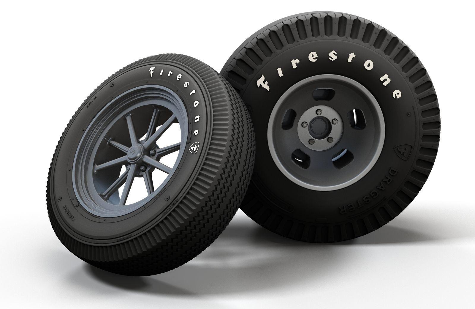 Hot Rod Gasser wheels