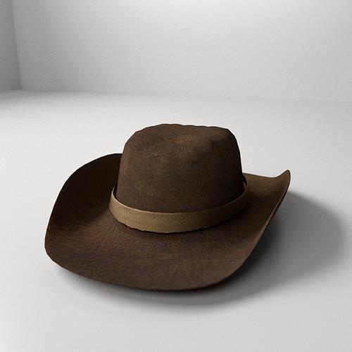 Cowboy Hat 3d Model Cgtrader