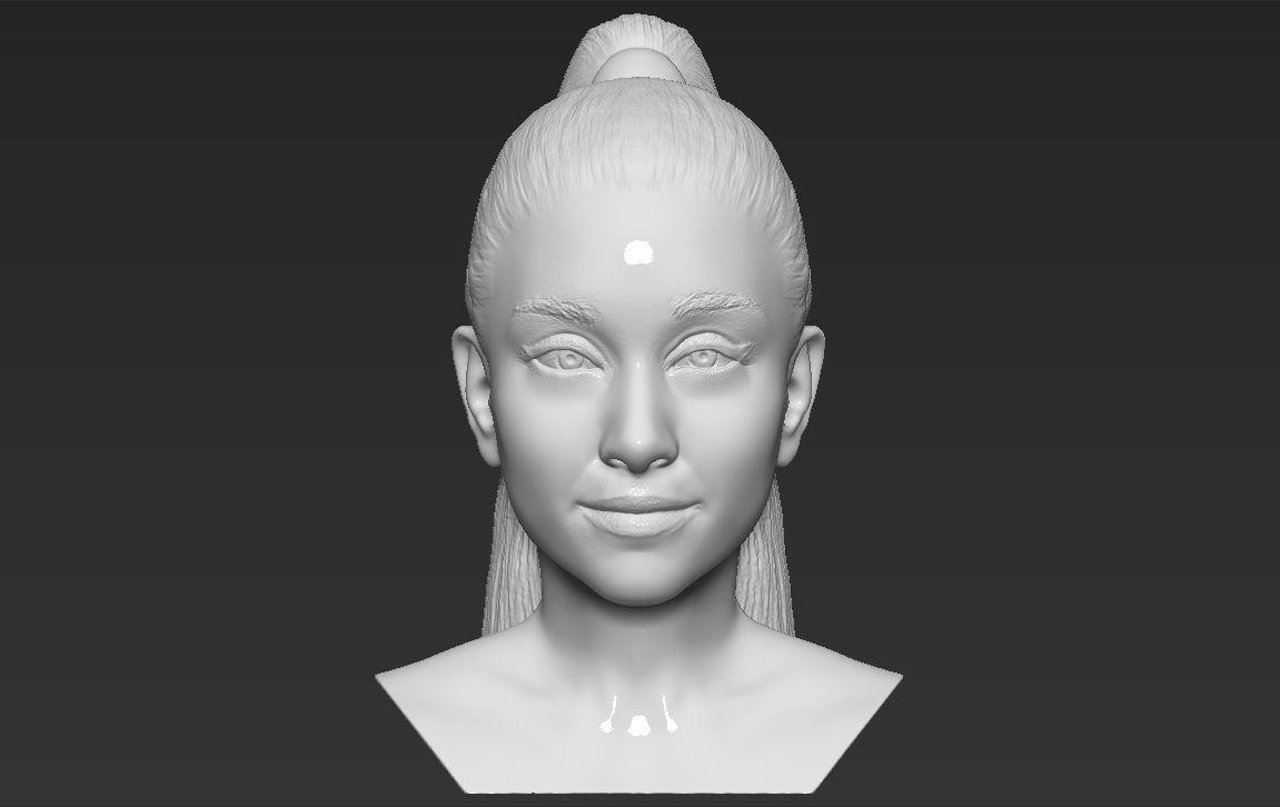 Ariana Grande bust 3D printing ready stl obj formats