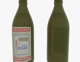 3D model Russian Vodka