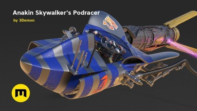Anakin Skywalkers Podracer