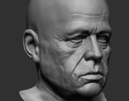3D model Old Man polygroups