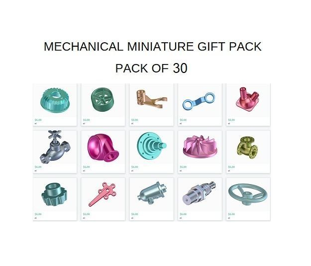 MECHANICAL MINIATURE GIFT PACK - KIDS AND STUDENTS LEARNING