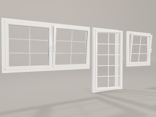 3d realistic windows cgtrader for Window models for house photos