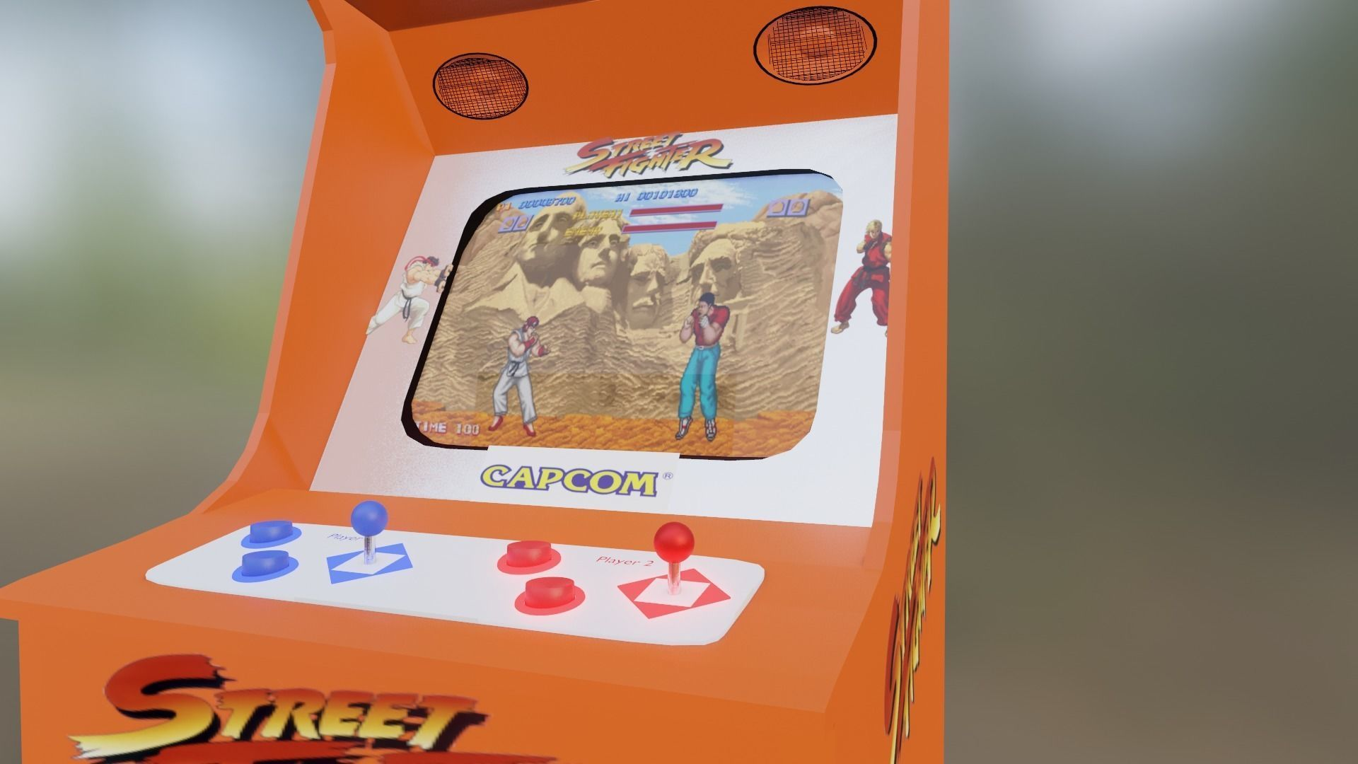 Arcade Game Street Fighter