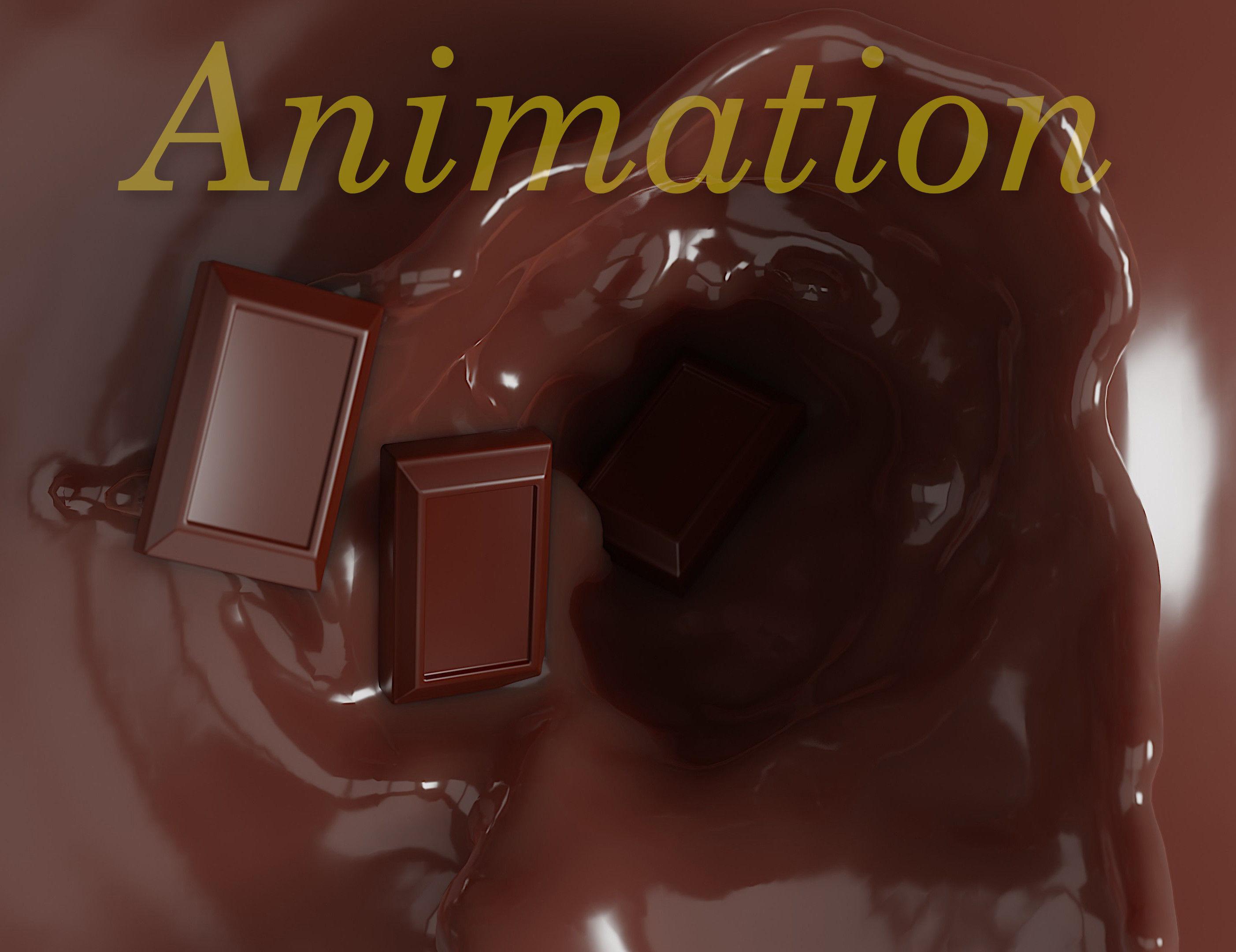 Chocolate animation