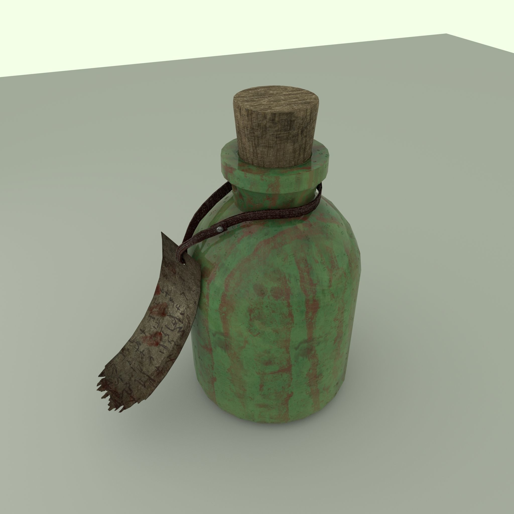 Flask of poison