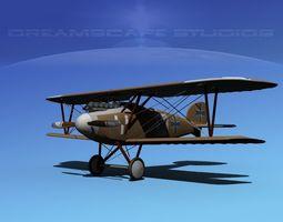 Albatross DIII V02 3D Model