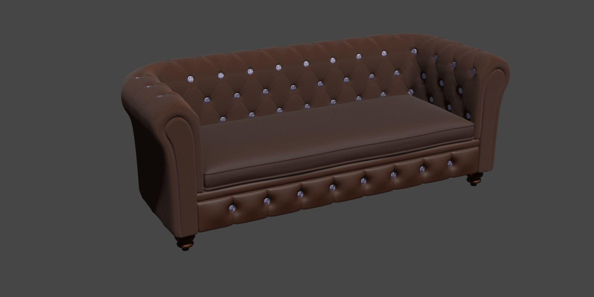 3D model sofa seat Sofa set | CGTrader