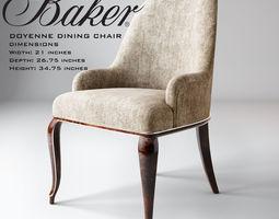 Doyenne dining chair 3D print model