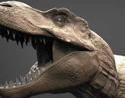 realistic t-rex high poly 3d