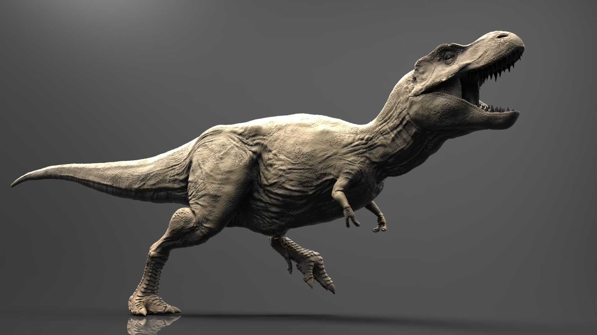 realistic t-rex high poly 3d model obj stl ztl | cgtrader