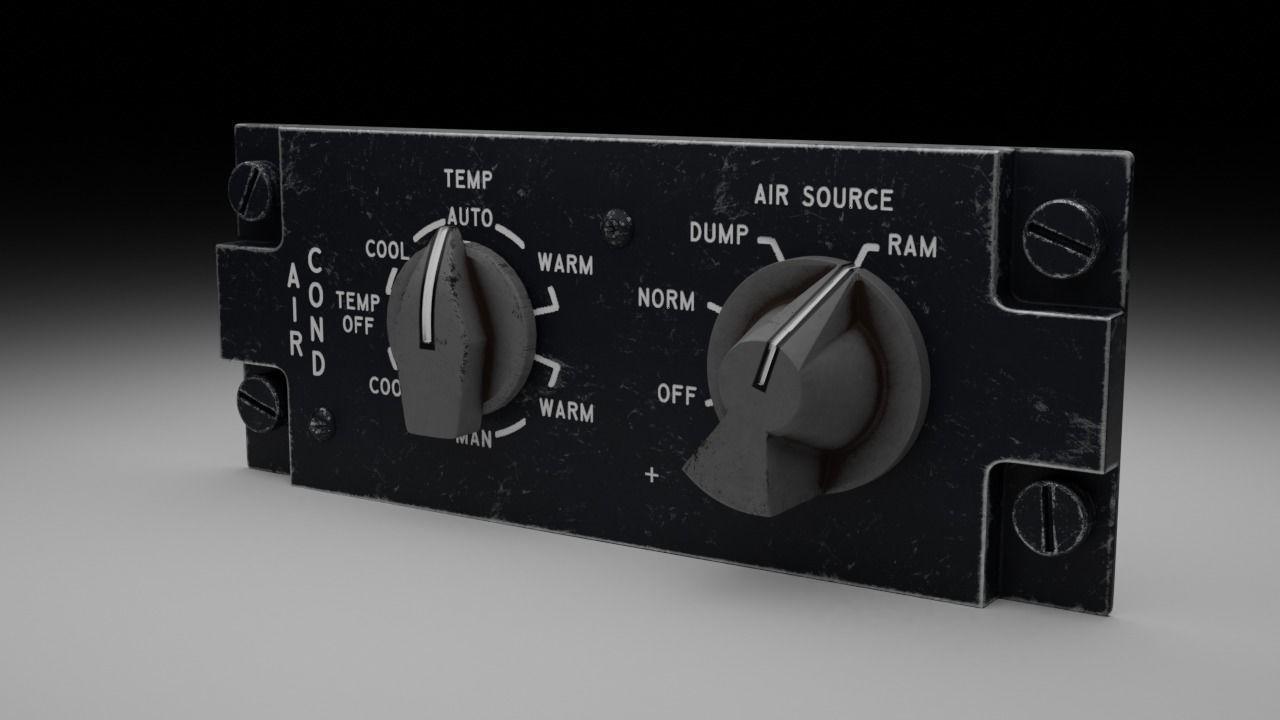 F16 AIR CON Panel